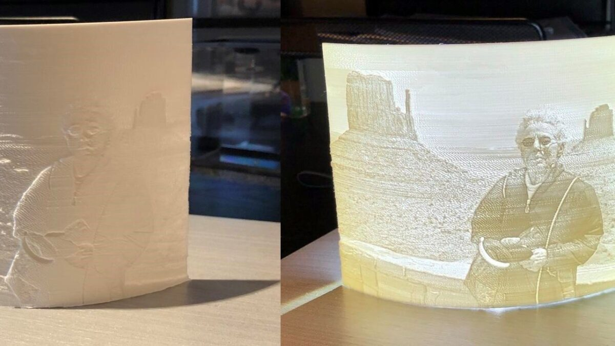 3D Yazıcı ile Fotoğraf Basma
